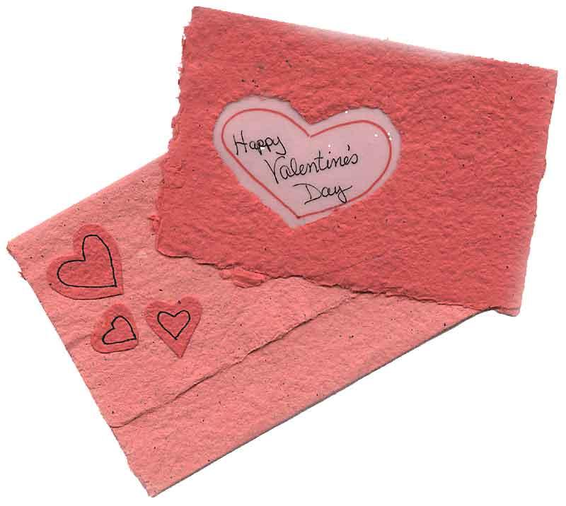 Handmade Cards Hearts Hearts of Handmade Paper